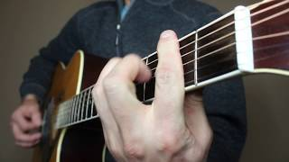 The Chair - George Strait   Guitar Cover