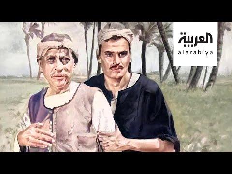 العرب اليوم - شاهد: أيمن الإمام فنان يجسد الشارع المصري في لوحات