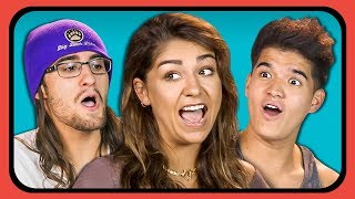 YOUTUBERS REACT TO THEIR OLD YOUTUBE CHANNEL PROFILE