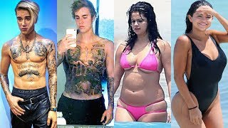 Justin Bieber Vs Selena Gomez Transformation ★ 2019