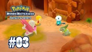 Gurdurr  - (Pokémon) - Pokémon Mundo Misterioso: Portales al Infinito: #3 - Scraggy y Gurdurr