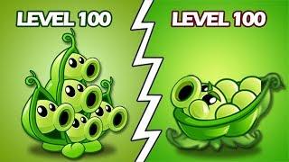 Plants Vs Zombies 2 Vaina 100 Vs Tiraguisante Nivel 100