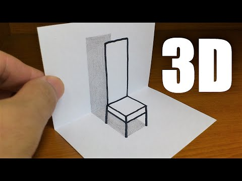 Very Easy!! How To Draw 3D Hole for Kids - Anamorphic