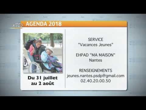 Agenda du 2 juillet 2018