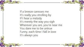 Chet Baker - It's Always You Lyrics