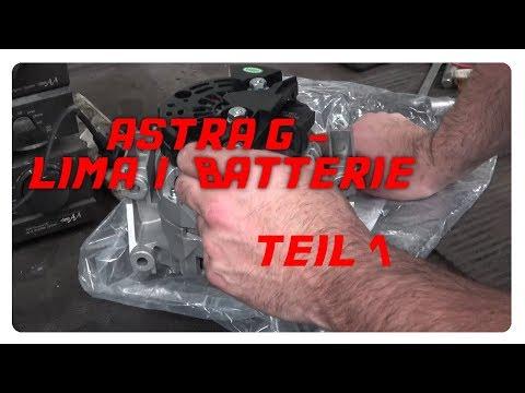 Astra G Z22SE - Batterie / Lichtmaschine wechseln - Teil 1 [4K]