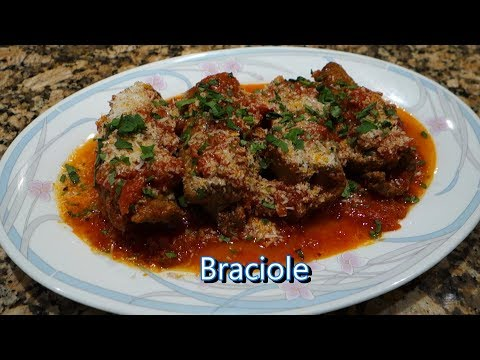Italian Grandma Makes Braciole