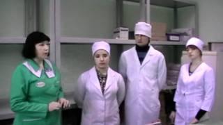 Студенты колледжа НФаУ на практике в аптеке №63