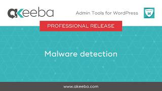 Watch a video on Malware detection [03:17]