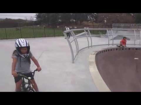 Tour of new Ramsey Park Skatepark in Watsonville, CA