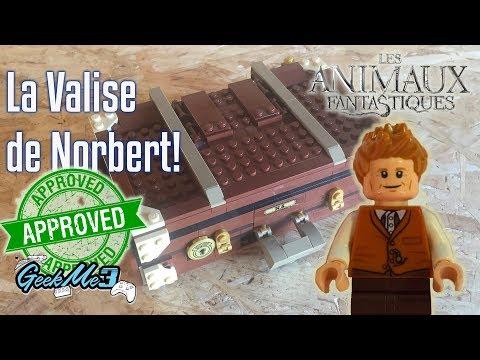 Vidéo LEGO Harry Potter 75952 : La valise des animaux fantastiques de Norbert