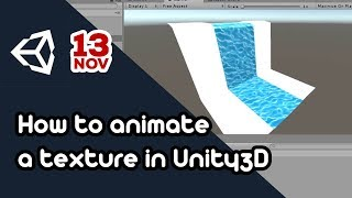 how to make an animated texture in unity - मुफ्त