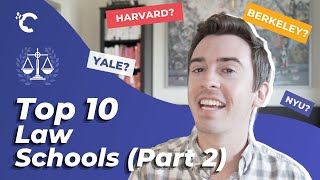 youtube video thumbnail - Top 10 Law Schools in the U.S. (Part II)
