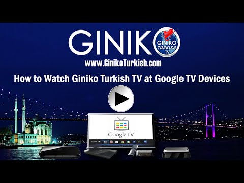 Video of Giniko Turkish TV for GoogleTV