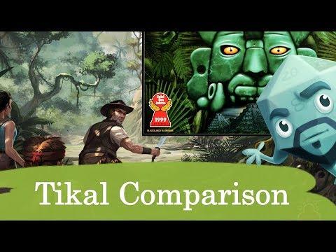 Tikal Comparison (Super Meeple vs. Rio Grande) - with Zee Garcia