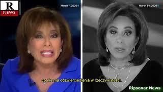 Zobacz jak szybko amerykańskie media zmieniają narrację wobec koronawirusa.