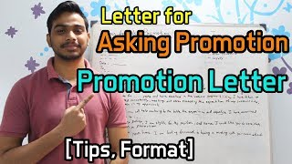 Letter for Asking Promotion [Tips, Format]
