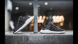 best sneakers 79c49 f0aeb Review  On-Feet Adidas EQT Support 9317