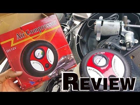 Universal Portable Mini 12V Car Air Compressor Pump