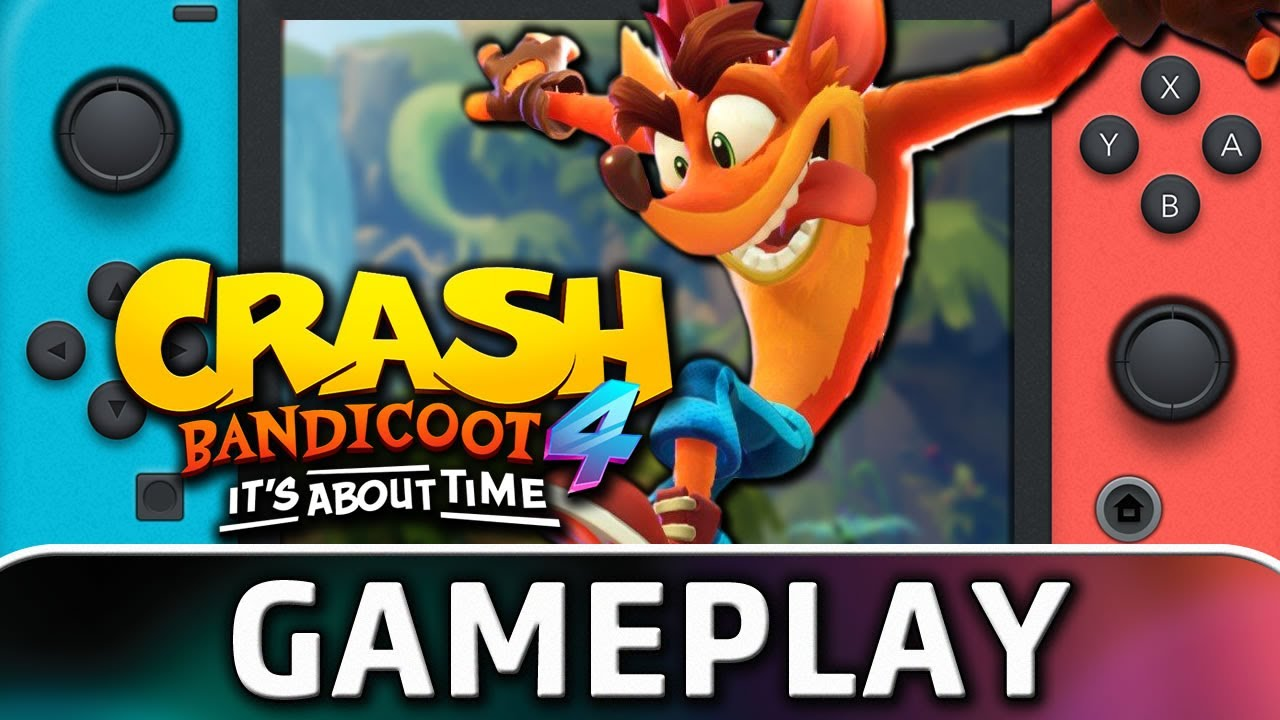 Crash Bandicoot 4: It's About Time | Nintendo Switch Gameplay