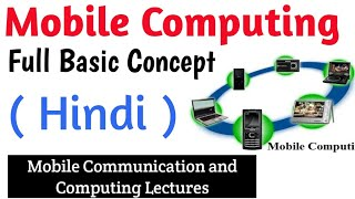 Mobile Computing Full Basic Concept in Hindi | Mobile Computing Lectures