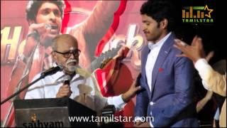 Abirami Ramanathan and K Balachendar at Arima Nambi Movie Audio Launch