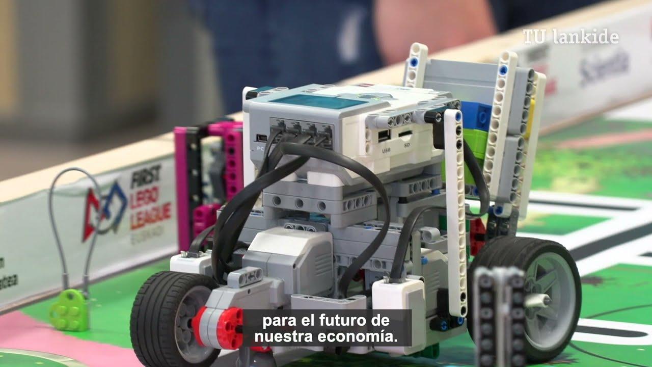 Deporte, innovación y seguridad han marcado la final de First Lego League Euskadi