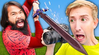 YouTube Video Challenge! Spy Ninjas Teach PZ9 How To Make DIY Funny Movies for Best Friends at Home