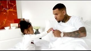 Chris Brown's Daughter Royalty Steals Spotlight in Music Video 'Little More'
