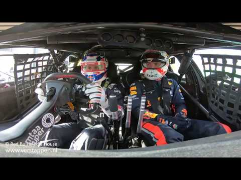Max Verstappen joins JDub for a lap around Melbourne in an Australia Supercar