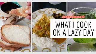 Cooking On A Lazy Day | Cheeky Vlogs