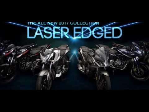 Bajaj Pulsar: All New 2017 Collection Laser Edged Pulsa
