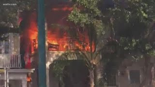 2 injured in 4-alarm fire on St. Charles Avenue