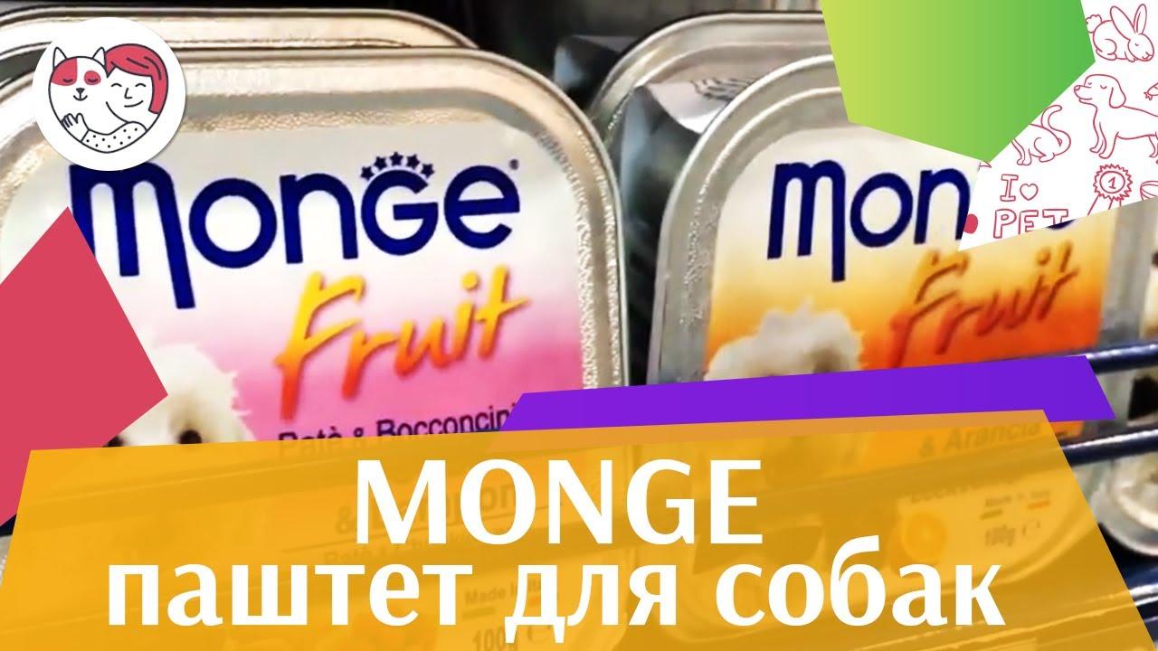 Monge паштет для собак на  ililkepet