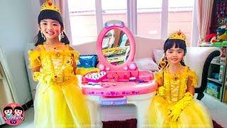 เจ้าหญิงหนูยิ้มหนูแย้ม | แต่งหน้าไปงานเต้นรำ Princess Makeup for Dance Party