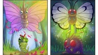 Venonat  - (Pokémon) - Venonat  Butterfree Theory Explained - BulbaTube