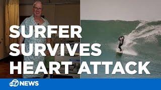 Surfing veteran survives heart attack on wave at Mavericks