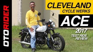 Cleveland Cycle Werks Ace 2017 Test Ride Review Indonesia   OtoRider   Supported by GIIAS 2017