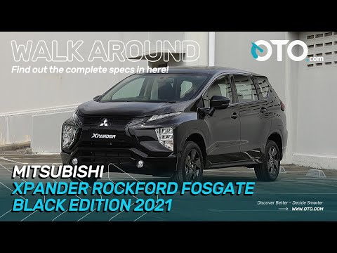Walk Around | Mitsubishi Xpander Rockford Fosgate Black Edition 2021