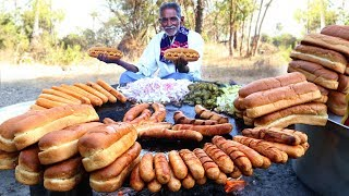 Hot Dogs Recipe | How to Make easy Hot Dogs | New York Chicken Hot Dog By Our Grandpa | Kholo.pk