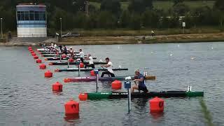 Соревнования на каноэ 500метров