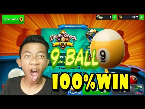 Video Trik Menang 9 ball 100% - 8 ball pool