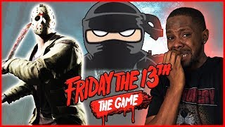 EXPERT NINJA STATUS! HIDING FROM JASON! - Friday The 13th Gameplay Ep.15