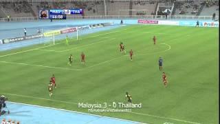Pestabola Merdeka 2013: Malaysia 3 - 0 Thailand (11/9/13)