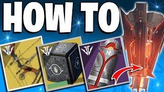 Destiny 2 - How to Complete IZANAMI Forge / Full Guide - Mysterious Box Drones & New Exotic Bow