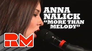 "Anna Nalick - ""More Than Melody"" Live Acoustic (RMTV Official)"
