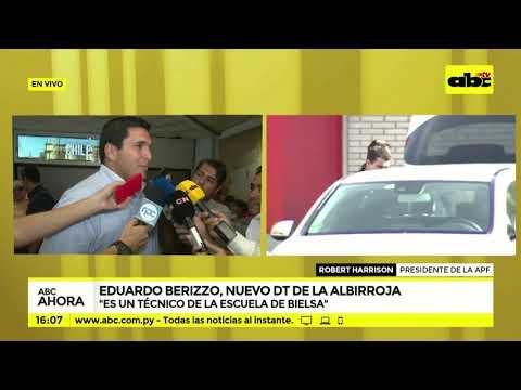 Eduardo Berizzo, nuevo DT de la albirroja