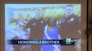 Fallen Officer remembered at memorial