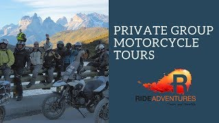 Private Group Motorcycle Tours