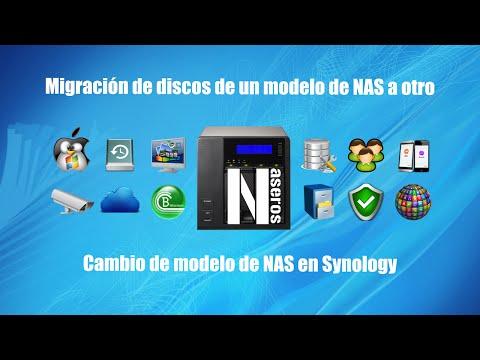 Migración de discos de un modelo de NAS a otro